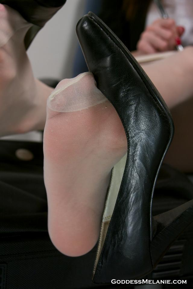 By well worn smelly pantyhose