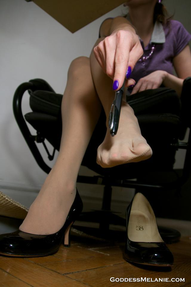 Desk Pantyhose Links 13