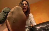 Thumbnail for Foot Sniffing Slave Captured POV
