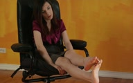 Thumbnail for Barefoot Sandal Foot Tease