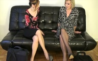 Goddess Melanie and LillyAnna The Office Pervert Smelly Duo